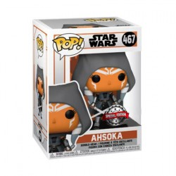 Figuren Pop Star Wars The Mandalorian Ahsoka Hooded Limitierte Auflage Funko Genf Shop Schweiz