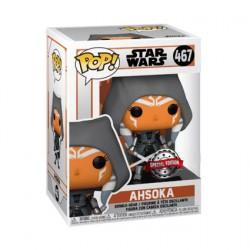 Figurine Pop Star Wars The Mandalorian Ahsoka Hooded Edition Limitée Funko Boutique Geneve Suisse