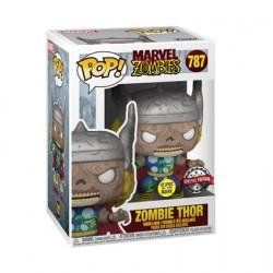Figurine Pop Phosphorescent Marvel Zombies Thor Edition Limitée Funko Boutique Geneve Suisse