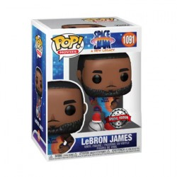 Figuren Pop Space Jam 2 A New Legacy LeBron James Pose Limitierte Auflage Funko Genf Shop Schweiz