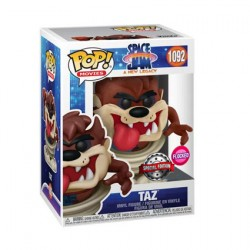 Figur Pop Flocked Space Jam 2 A New Legacy Taz Limited Edition Funko Geneva Store Switzerland