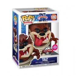 Figurine Pop Floqué Space Jam 2 A New Legacy Taz Edition Limitée Funko Boutique Geneve Suisse