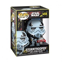 Figurine Pop Star Wars Retro Series Stormtrooper Edition Limitée Funko Boutique Geneve Suisse