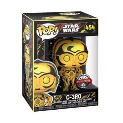Figurine Pop Star Wars Retro Series C-3PO Edition Limitée Funko Boutique Geneve Suisse