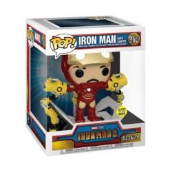 Figurine Pop Deluxe Phosphorescent Iron Man 2 Iron Man MKIV avec Portique Edition Limitée Funko Boutique Geneve Suisse