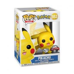 Figur Pop Diamond Pokemon Pikachu Waving Limited Edition Funko Geneva Store Switzerland