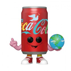 Figurine Pop Coca-Cola Flowery Coca-Cola Can Hilltop Anniversary Funko Boutique Geneve Suisse