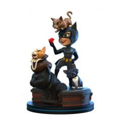 Figurine DC Comics Q-Fig Elite Catwoman Quantum Mechanix Boutique Geneve Suisse