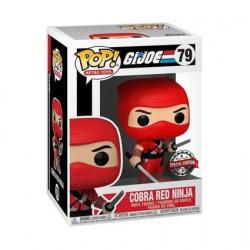 Figurine Pop G.I. Joe Cobra Red Ninja Edition Limitée Funko Boutique Geneve Suisse