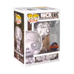 Figurine Pop Métallique Platinum My Chemical Romance Skeleton Gerard Way Edition Limitée Funko Boutique Geneve Suisse