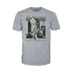 Figuren T-shirt Star Wars The Mandalorian IG-11 mit Grogu Limitierte Auflage Funko Genf Shop Schweiz