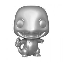 Figurine Pop Métallique Pokemon Charmander Silver Edition Limitée Funko Boutique Geneve Suisse