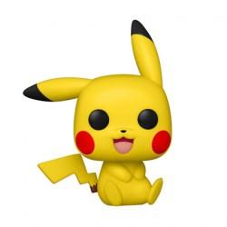 Figurine Pop Pokemon Pikachu Assis (Rare) Funko Boutique Geneve Suisse