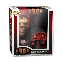 Figur Pop Game Cover Glow in the Dark Diablo 2 Dark Wanderer with Hard Acrylic Protector Limited Edition Funko Geneva Store S...
