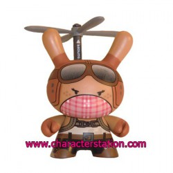 Post Apocalypse Dunny 11 by Huck Gee