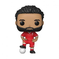 Figurine Pop Football Liverpool F.C. Mohamed Salah Funko Boutique Geneve Suisse
