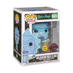 Figurine Pop Phosphorescent Rick et Morty Hologram Rick Clone See You Edition Limitée Funko Boutique Geneve Suisse