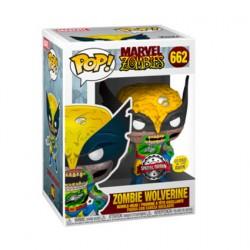 Figurine Pop Phosphorescent Marvel Zombies Wolverine Zombie Edition Limitée Funko Boutique Geneve Suisse