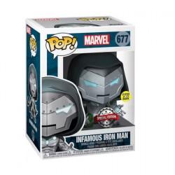 Figurine Pop Phosphorescent Iron Man Infamous Iron Man Edition Limitée Funko Boutique Geneve Suisse