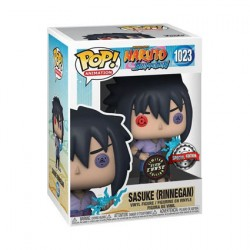 Figurine Pop Phosphorescent Naruto Shippuden Sasuke Rinnegan Chase Edition Limitée Funko Boutique Geneve Suisse