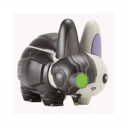 Figuren Cyborg Labbit von Chuckboy X Kozik ohne Verpackung Kidrobot Designer Toys Genf