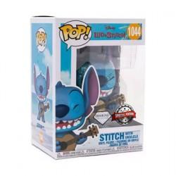Figurine Pop Diamond Lilo et Stitch Stitch avec Ukelele Edition Limitée Funko Boutique Geneve Suisse
