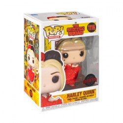 Figur DAMAGED BOX Pop The Suicide Squad 2021 Harley Quinn Curtsying Limited Edition Funko Geneva Store Switzerland