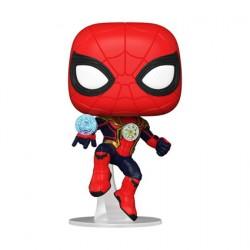 Figurine Pop Spider-Man No Way Home Spider-Man Integrated Suit Funko Boutique Geneve Suisse