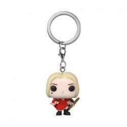 Figurine Pop Pocket Porte-Clés The Suicide Squad Harley Quinn Damaged Dress Funko Boutique Geneve Suisse