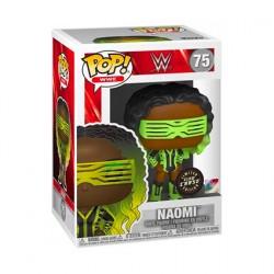 Figurine Pop Phosphorescent WWE Naomi Chase Edition Limitée Funko Boutique Geneve Suisse