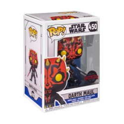 Figurine Pop Star Wars The Clone Wars Darth Maul with Two Lightsabers Edition Limitée Funko Boutique Geneve Suisse