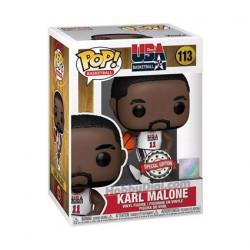 Figur Pop NBA Legends Karl Malone 92 Team USA White Limited Edition Funko Geneva Store Switzerland