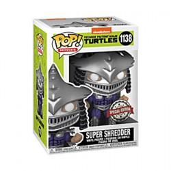 Figur Pop Metallic Teenage Mutant Ninja Turtles 2 Super Shredder Limited Edition Funko Geneva Store Switzerland