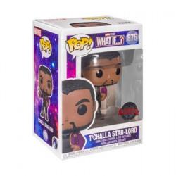Figur Pop What If…? T'Challa Star-Lord Unmasked Limited Edition Funko Geneva Store Switzerland