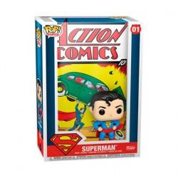 Figurine Pop DC Comics Superman Comic Cover Funko Boutique Geneve Suisse