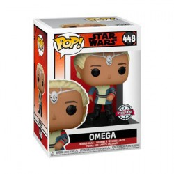 Figur Pop Star Wars The Bad Batch Omega Limited Edition Funko Geneva Store Switzerland