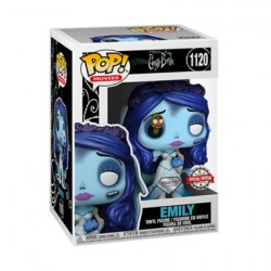 Pop Diamond Corpse Bride Emily with Maggot Limited Edition