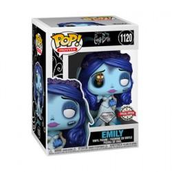 Figurine Pop Diamond Les Noces Fenèbres Emily avec Asticot Edition Limitée Funko Boutique Geneve Suisse