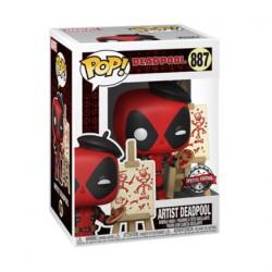 Figur Pop Marvel Deadpool Artist Limited Edition Funko Geneva Store Switzerland