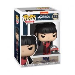 Figurine Pop Avatar The Last Airbender Mai avec Couteaux Edition Limitée Funko Boutique Geneve Suisse