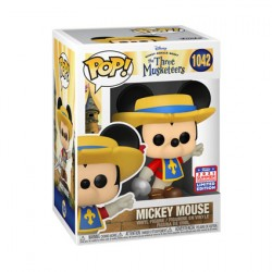 Figur Pop SDCC 2021 Mickey Mouse Mickey Musketeer Limited Edition Funko Geneva Store Switzerland