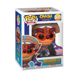 Figurine Pop SDCC 2021 Crash Bandicoot Crash in Mask Armor Edition Limitée Funko Boutique Geneve Suisse