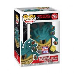 Figurine Pop Métallique SDCC 2021 Dungeons et Dragons Xanathar avec D20 Edition Limitée Funko Boutique Geneve Suisse