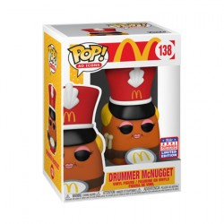 Figur Pop SDCC 2021 McDonald's Nugget Drummer Limited Edition Funko Geneva Store Switzerland
