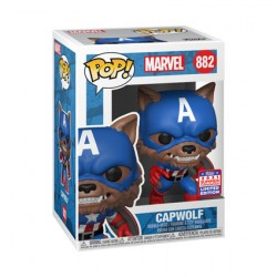 Figur Pop SDCC 2021 Captain America Capwolf Year of the Shield Limited Edition Funko Geneva Store Switzerland