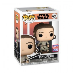 Figurine Pop SDCC 2021 Star Wars Across the Galaxy Rey Jakku Edition Limitée Funko Boutique Geneve Suisse