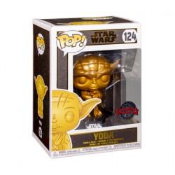 Figurine Pop Métallique Star Wars Yoda Metallic Gold Edition Limitée Funko Boutique Geneve Suisse