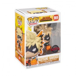 Figurine Pop Métallique My Hero Academia Bakugo avec Explosion Edition Limitée Funko Boutique Geneve Suisse