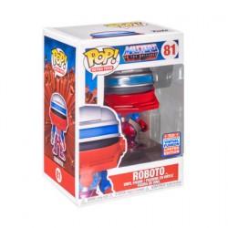 Figurine Pop SDCC 2021 Les Maîtres de l'Univers Roboto Edition Limitée Funko Boutique Geneve Suisse
