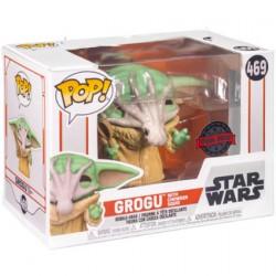 Figuren Pop Star Wars The Mandalorian Grogu mit Soup Creature Limitierte Auflage Funko Genf Shop Schweiz